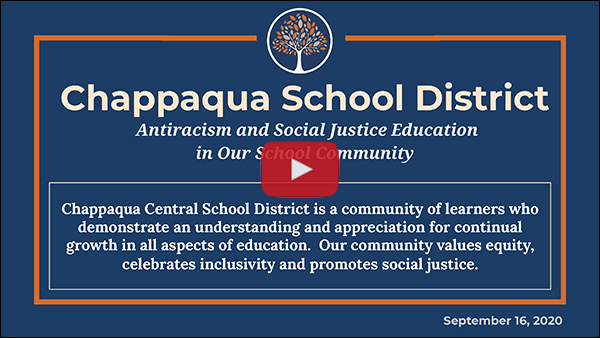 Antiracism & Social Justice Update Presentation Video