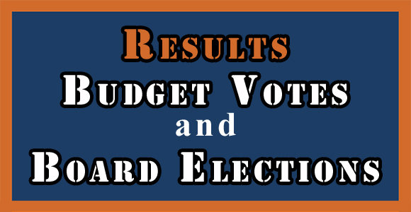 Results. Budget Votes and Board Elections.