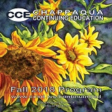 Chappaqua Continuing Education Fall 2018 Program