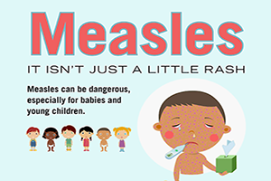 Measles. It isn't just a rash.