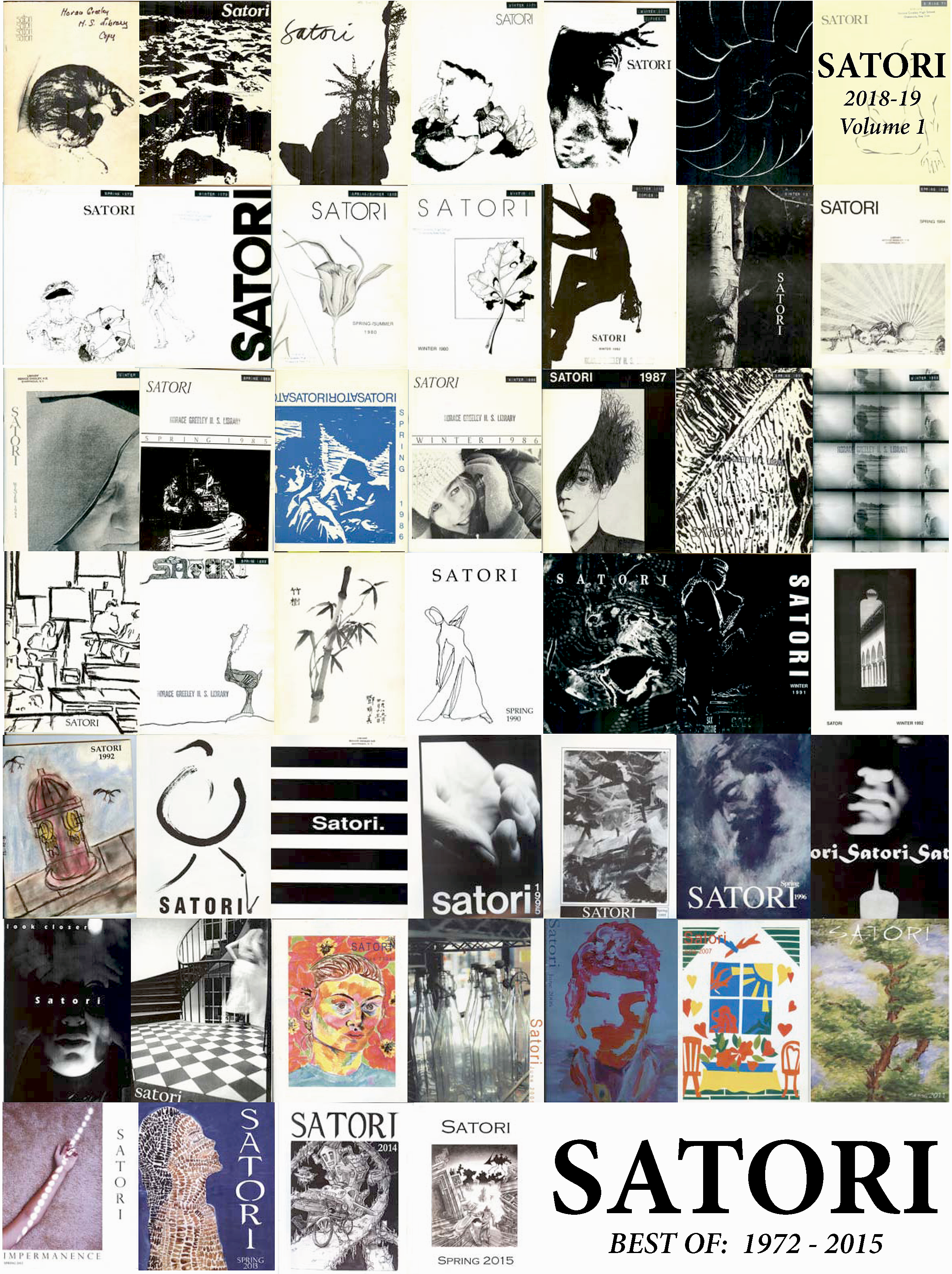 """Best Of"" satori cover 1972-2015"