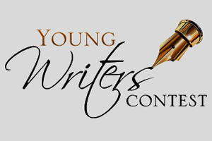 Young Writers Contest with a calligraphy tip pen.