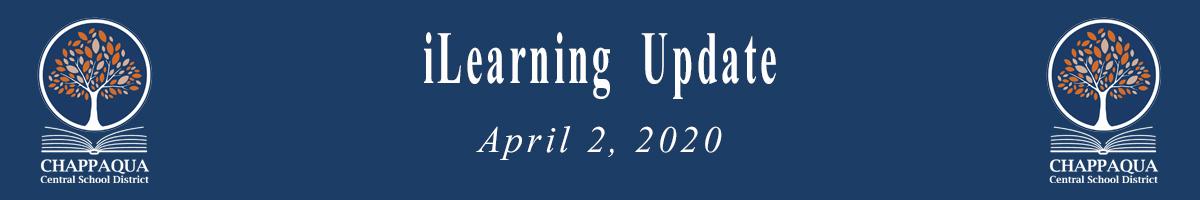 Remote instruction Update. April 6-13, 2020