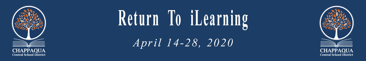 Return To iLearning. April 14-28, 2020