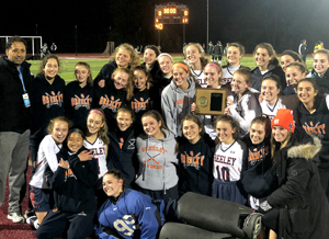 HGHS Girls Field Hockey Section 1 Champions!