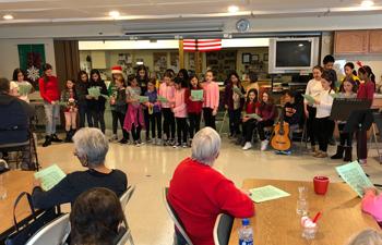 Seven Beidges Entertainers at Mt. Kisco Senior Center.