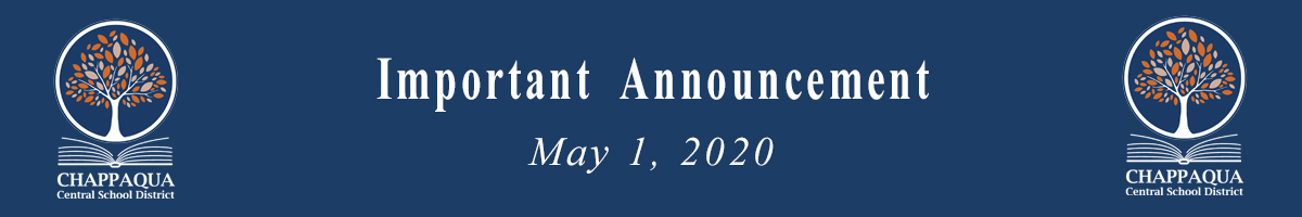 Important Announcement May 1 2020
