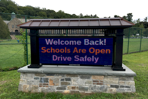 Welcome back. Schools are open. Drive safely.