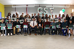 Group photo of all CSF grant recipients
