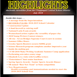 Highlights - July 2018