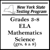Grades 3-8 NYS Testing Schedule