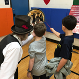 Scientific Circus visits Westorchard