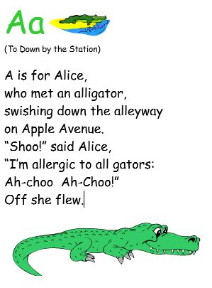 Aa Lyric to Down by the Station