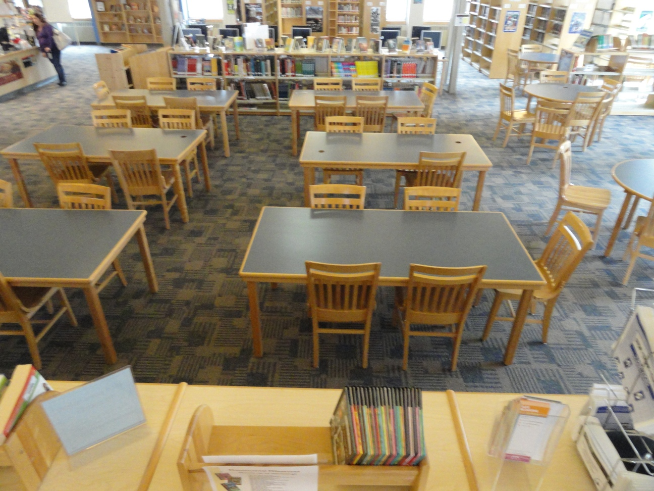 Library Tables and chairs
